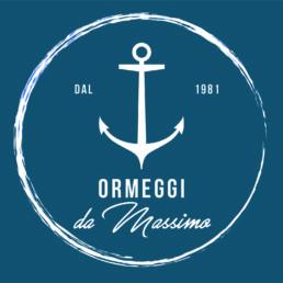 Ormeggi da Massimo Negative Logo - Brignetti Longoni Design Studio