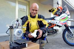 3d printed motorbike parts - stampa 3d moto