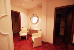 Studio Legale Belviso Palombo - entrance with armchairs