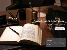 studiobelvisopalombo.it - homepage custom designed webiste