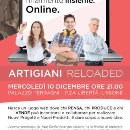 LISSONE Locandina Artigiani reloaded