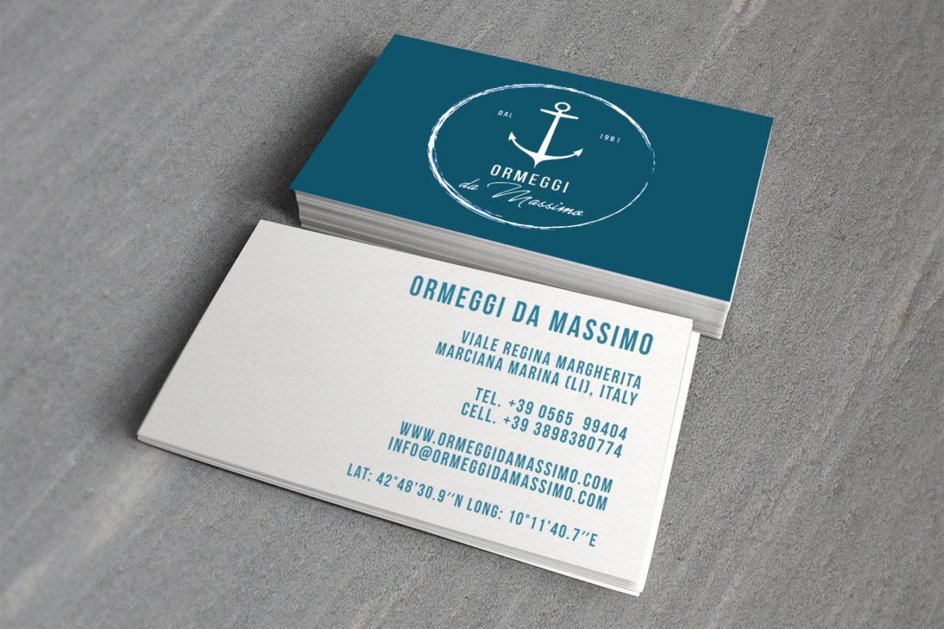 Ormeggi da Massimo visa - Brignetti Longoni Design Studio