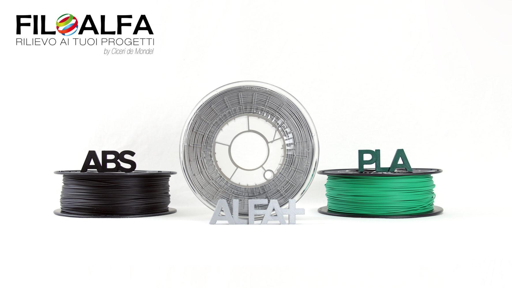 Alfa+ ADV - Brignetti Longoni Design Studio - Polimero, filamento, alfaplus, stampa 3D, Filoalfa, campagna, comunicazione, promozione, allestimenti, fiere, cartaceo, flyer, brochure, riviste, pubblicità, video, infografiche, social.
