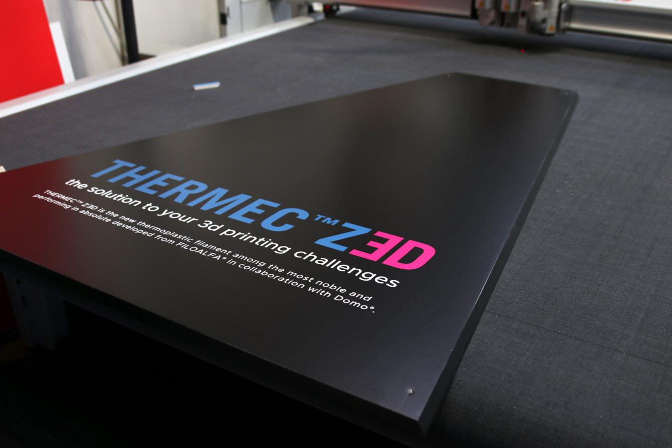 Brignetti Longoni Design Studio - FILOALFA at MECSPE - Stand, allestimento, fiera, mecspe, seaf, manifatture, 4.0, filamenti, stampa 3d, materiale, FILOALFA®, Domo Chemicals, plastica, comunicazione, moto, carena, Italian Volt, Wasp Project, digitale, monitor, brand.