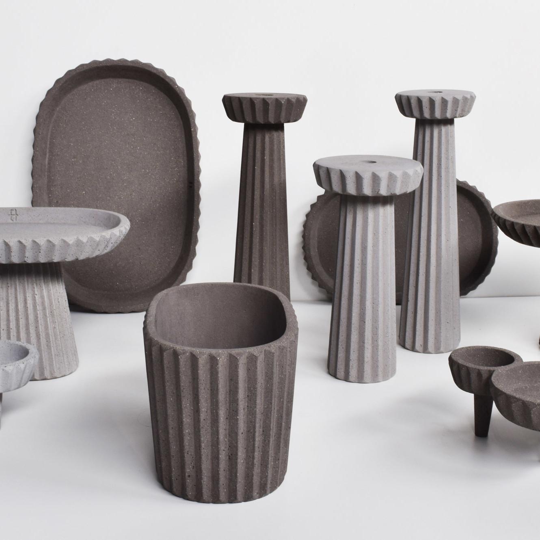 Brignetti Longoni Design Studio - HIPS modeling for concrete molding