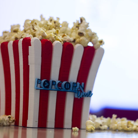 3dprinted Popcorn time bucket