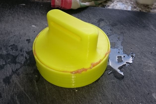 3d printed hamburger press