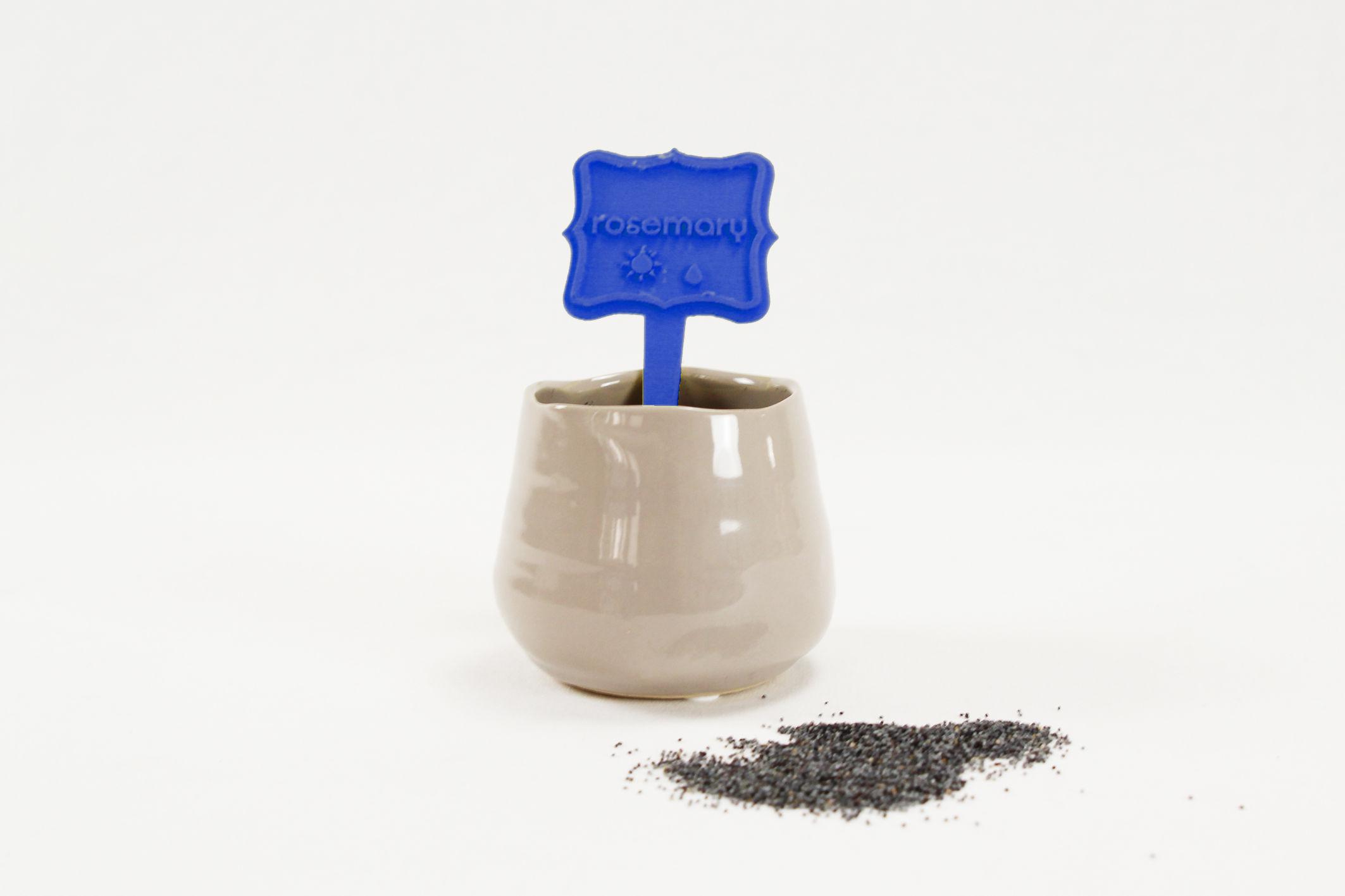 Aromatic herb label