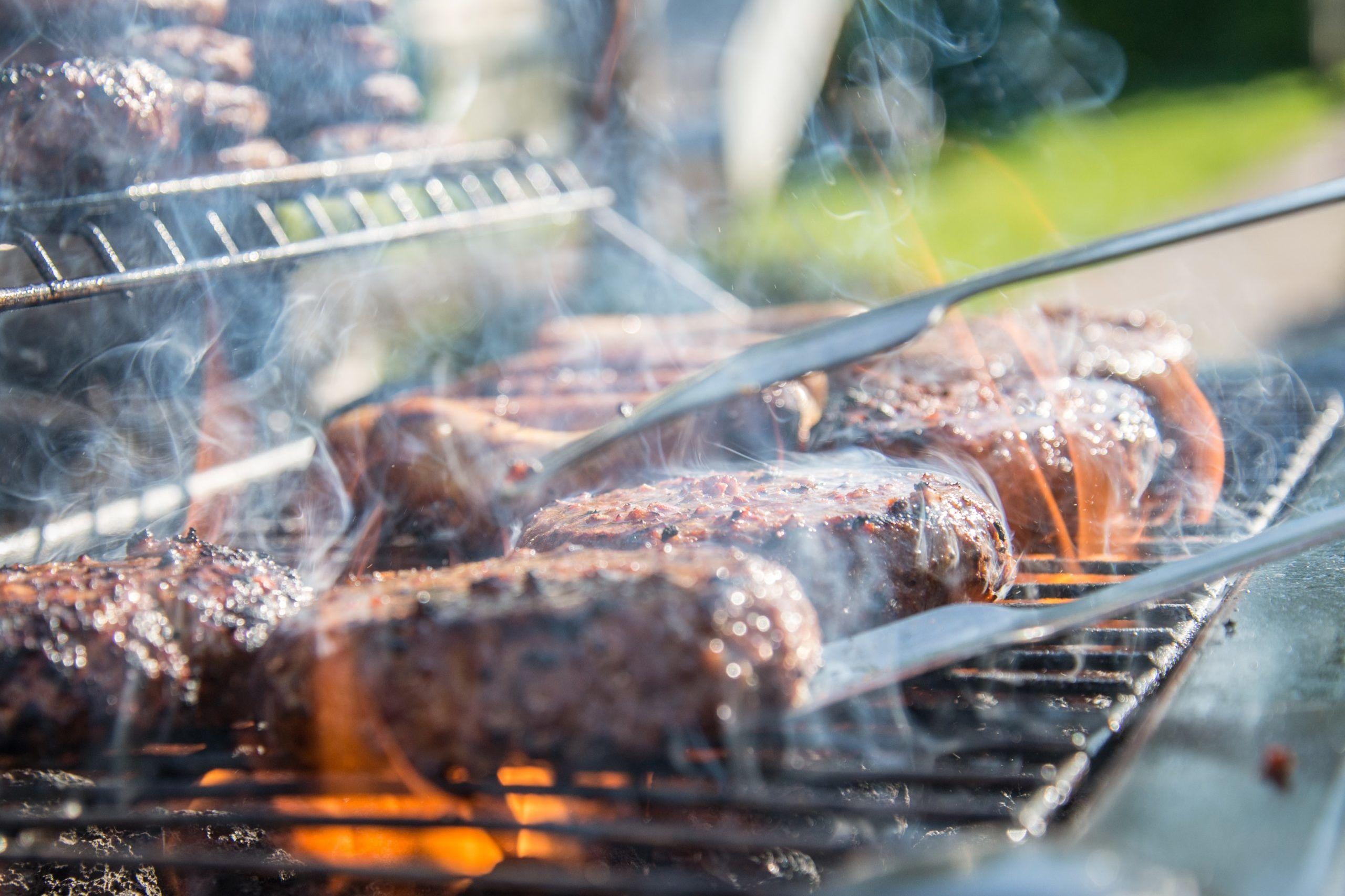 Barbecue Grill Hamburger