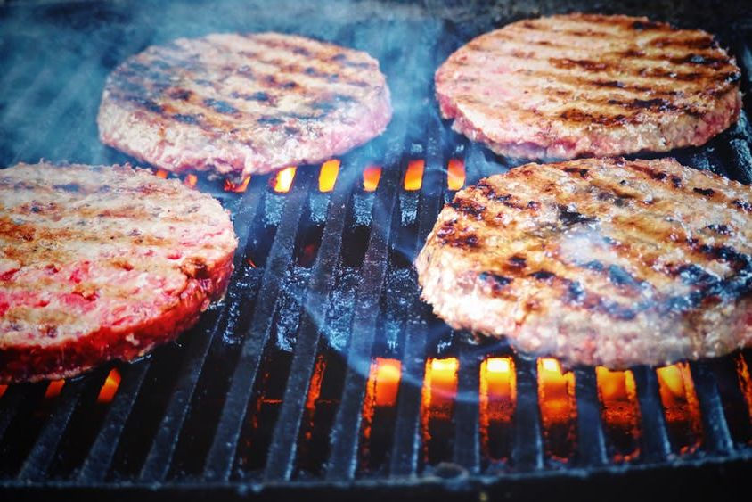 Barbecue Grill Hamburger