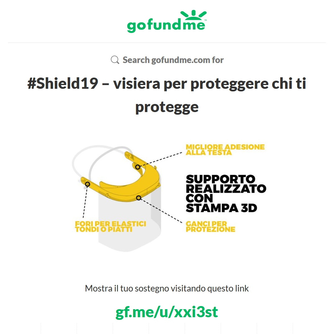 Shield 19 campagna crowdfunding