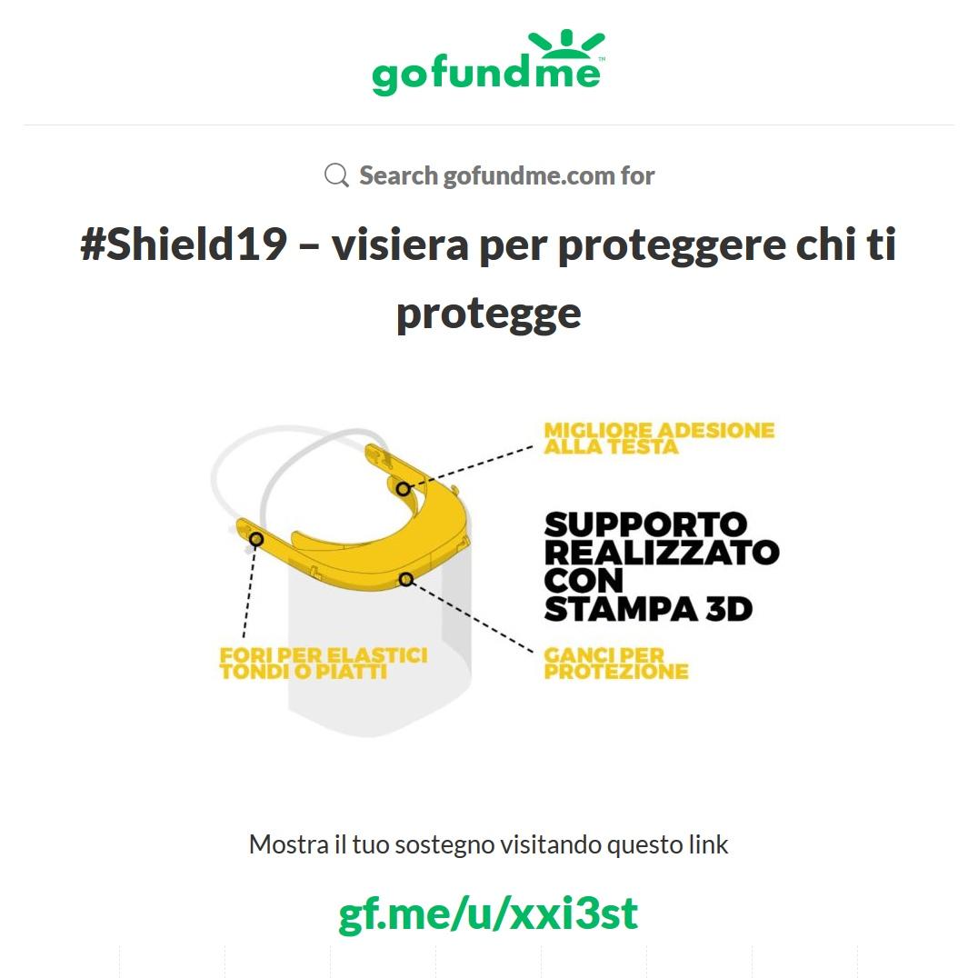 Shield 19 campagna crowdfunding
