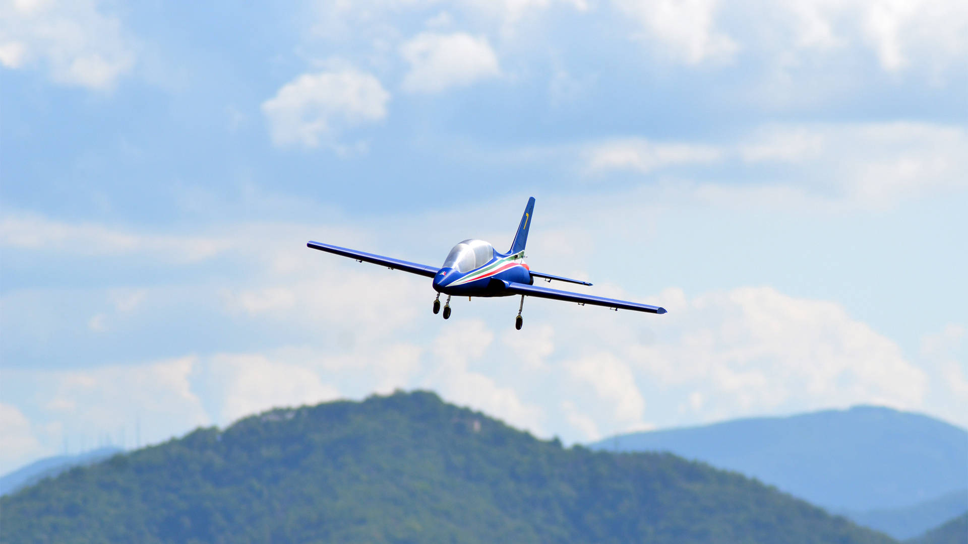 Passione 3d flying MB339 RC aircraft ducted fan website creation