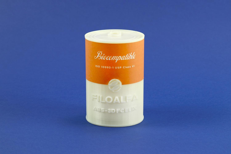 Lattina stampata in 3d in ABS-3d Fc by Elix e Filoalfa