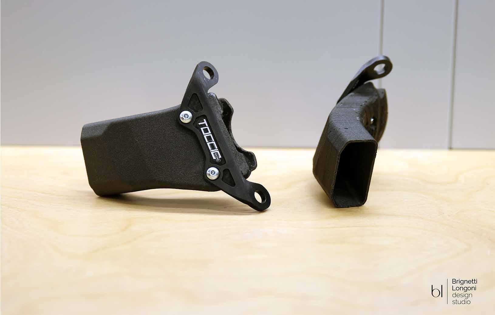Convogliatori d'aria stampati in 3d Ducati Panigale V4