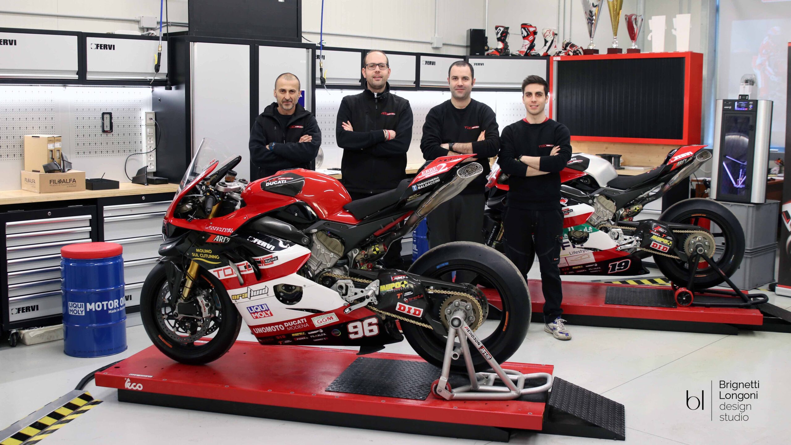 Toccio Racing officina a Solarolo