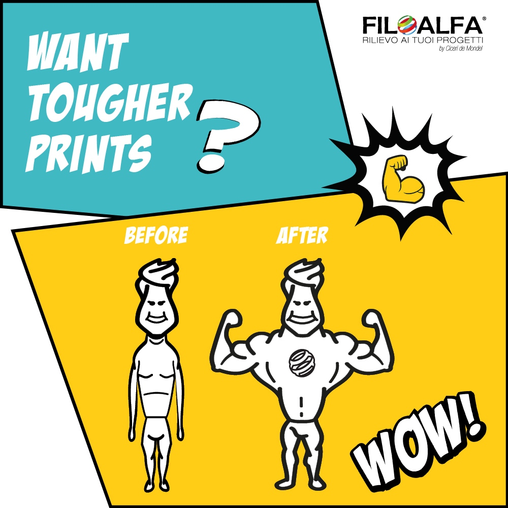 Flyer annealing filamenti filoalfa